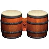 GC: DONKEY KONGA / JUNGLE BEAT BONGOS - NINTENDO (DRUMS) (USED)